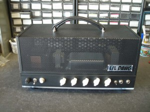 patrick's finished amp front