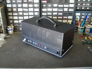 tim's finished amp rr