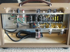 reverb unit with chassis