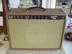 austin's finished amp front
