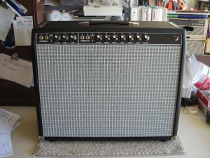jesse' finished amp front